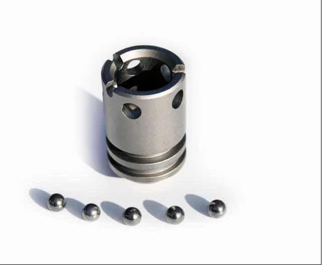 Ball gripper for ISO40 Spindles