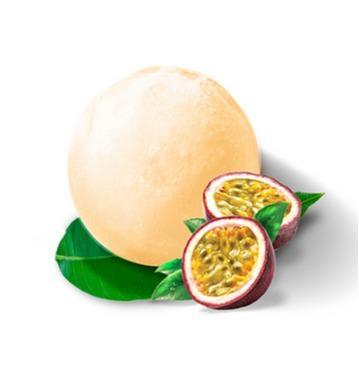 Mochi glacé aux fruits de la passion
