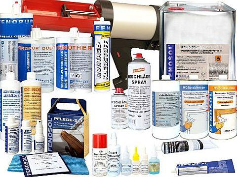 Product overview FENOPLAST, FENOSOL, FENOBOND, FENOPUR, EPOXAL and FENOTHERM brands. Cleaner, adhesives, maintanance. All articles can be delivered with own labels or complete with your brand mark .