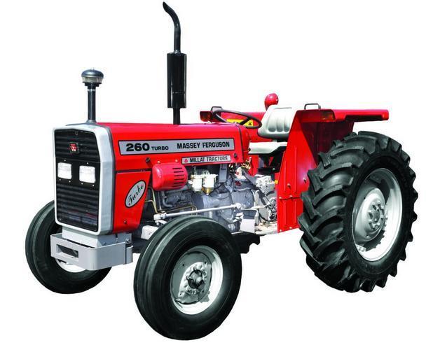 Massey Ferguson Tractor MF 260 (60HP) 2 Wheel Drive.