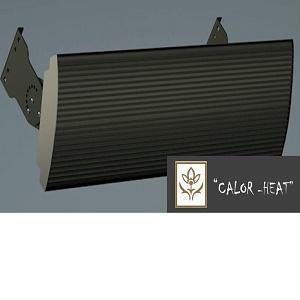 Panel infrarrojo para exterior o interior con grandes dimensiones. Medidas: 19x60 cm, 19x100 cm,  19x150 cm.