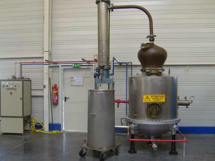Distillation de plantes