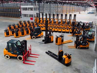 Forstor provides a complete range of Toyota counterbalanced forklift trucks and BT warehouse equipment.