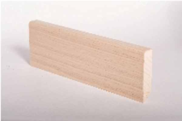 Battiscopa Impiallacciato 16x60 Rovere Grezzo / Veenered Skirting Board 21x60 Unfinished Oak / Sockelleiste 16x60 Eiche Roh