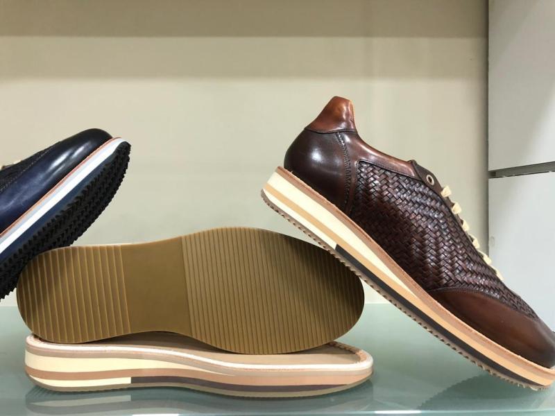 The EVA soles
