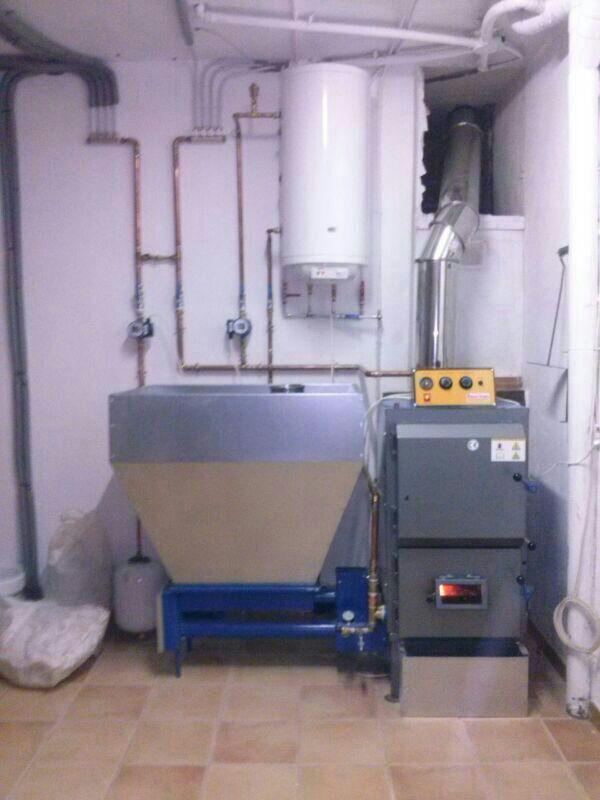Cardera para calefacción y Agua Caliente Sanitaria