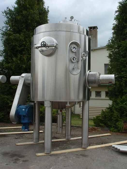 Boule de cuisson industrielle pour fabrication de confitures. Cuves de process pour agroalimentaire.