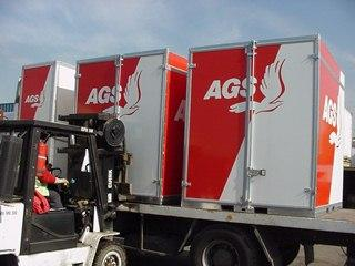 AGS Four Winds India Chennai - containers