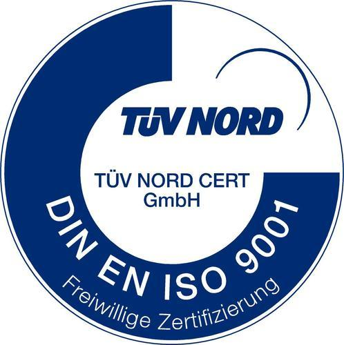 Zertifikat ISO 9001