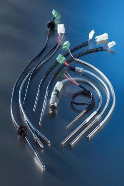 Toegepast in de koeltechniek, apparatenbouw en glastuinbouw. Regelmatig worden er kabelsensoren ontwikkeld voor klantspecifieke toepassingen. Geschikt binnen het temperatuurgebied -40 °C tot 350 °C.