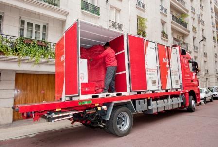 AGS Brest - road shipment