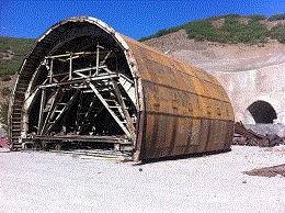 concrete formwark for big tunnel or any under construction road projects