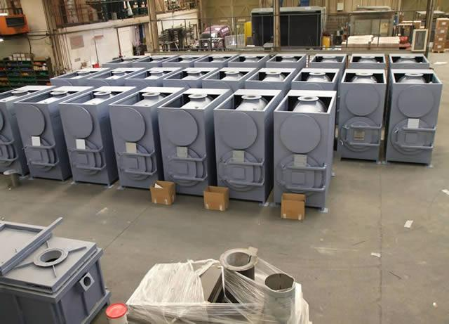 Large order for 26 Medical Incinerators with Venturi Scrubbers for Egyptian Military.
