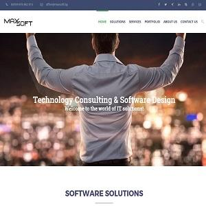 MaxSoft's website