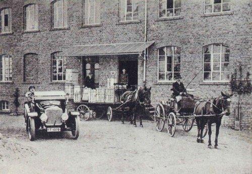 Packerei und Expedition 1915