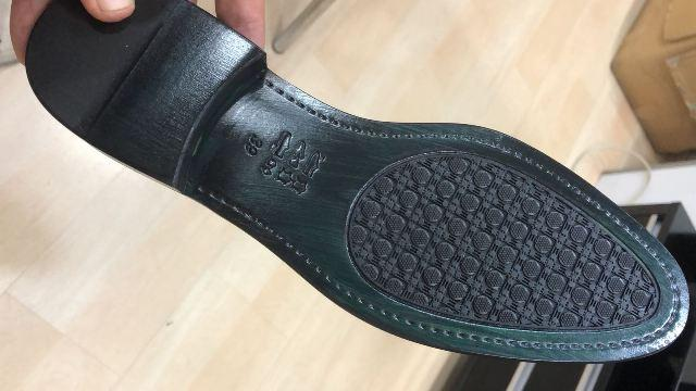 Leather Soles With TPU injection