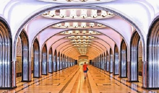 Guided tours of Moscow's metro best stations