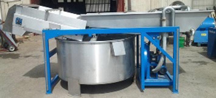 Lavatrice idropneumatica per olive