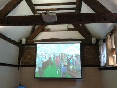Projector Installation Worksop