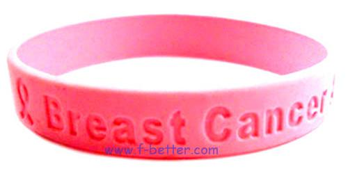 custom debossed silicone bracelets