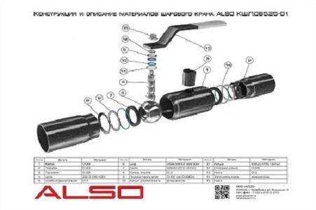 Ball valve ALSO