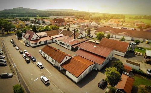 Firmengelände in Scheßlitz, Deutschland