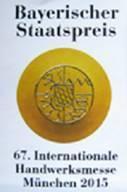 Bayerischer Staatpreis 2015