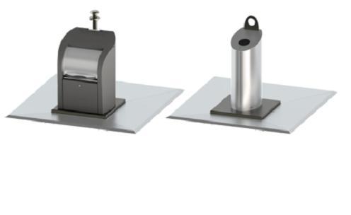 Conteneurs à déchets souterrains pour espaces publiques