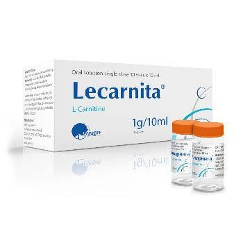 LECARNITA oral solution1g/10ml x 10 vials