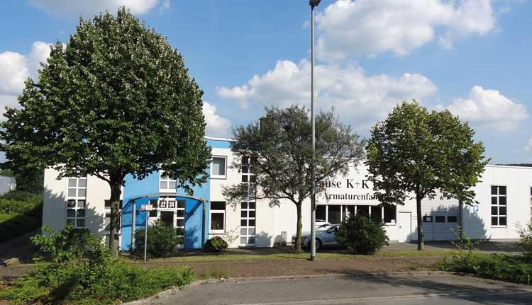 Firmengebäude der Krause K + K GmbH