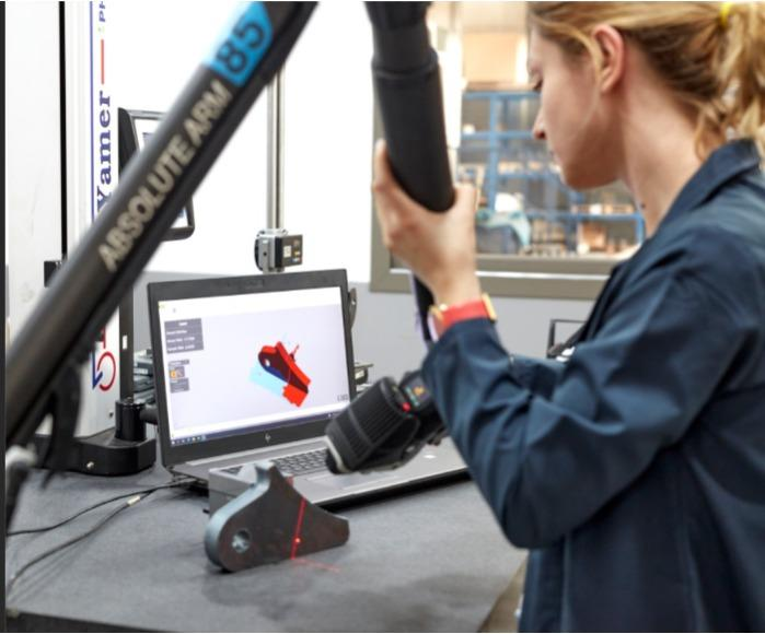 Quality and R&D with 3D CMM