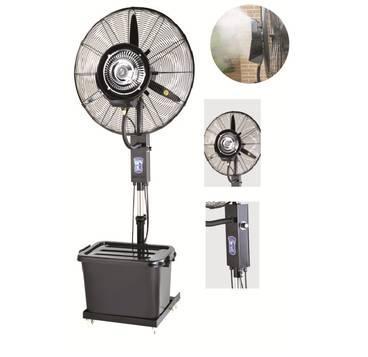 Професионален вентилатор с водна мъгла.
