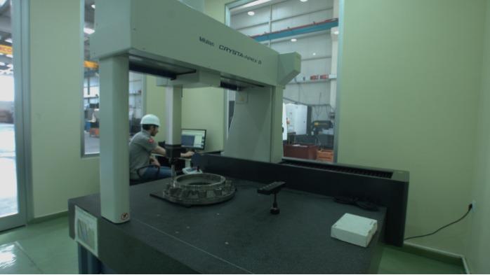 TURCONT  INPESCTION TESTING COORDINATE MEASUREMENT