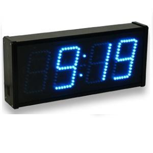 Relojería digital funcionando con leds para el interior y el exterior, desde 8 cmts de dígito hasta 60 cmts. De color reojo, amarillo, ambar, blanco, azul o verde.