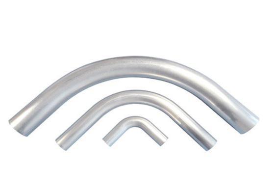 Aluminium-Rohrbogen