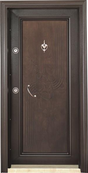 Metal Frame, Rustic Panel