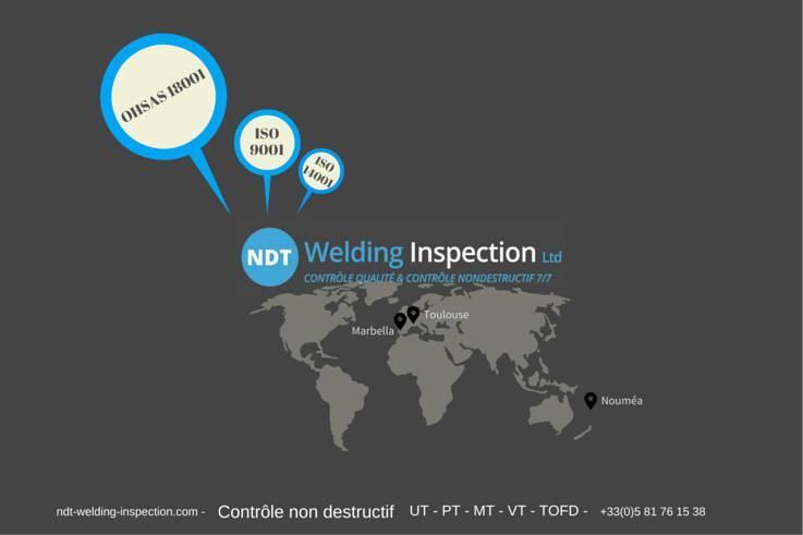 NDT WELDING INSPECTION