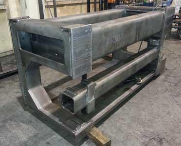 Gechweißter Stahlrahmen - Schweißträger