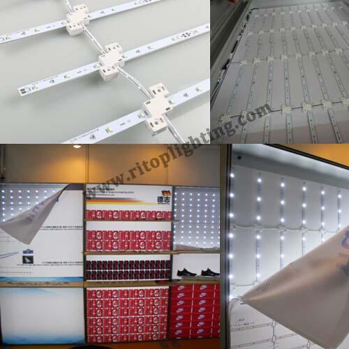 LED curtain strip for back lit light box--Ritop Lighting
