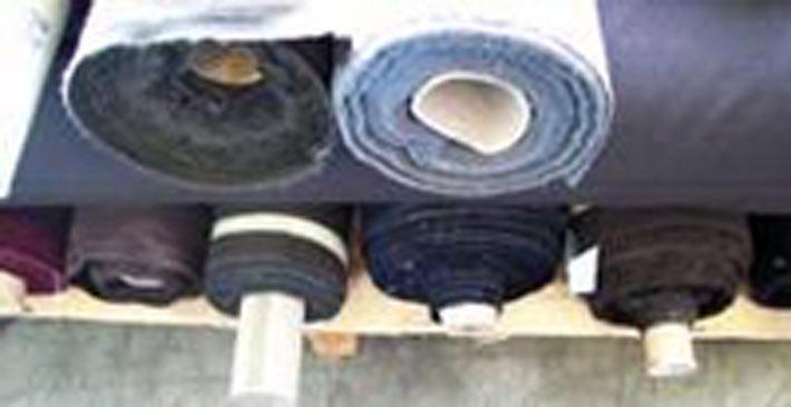 Tessuti a stock in rotoli