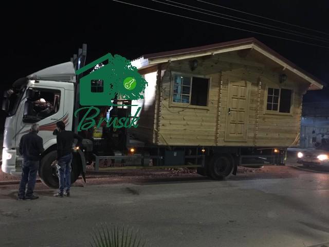 Garden cabin logistics