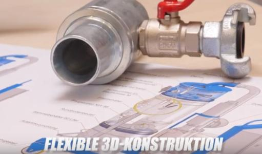 Konstruktion in 3-D