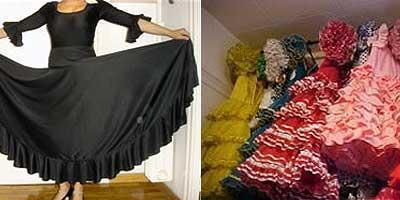 Tenemos trajes de flamenco para principiantes y profesionales y también trajes de flamenca para tus ferias andaluzas o fiestas según moda flamenca actual