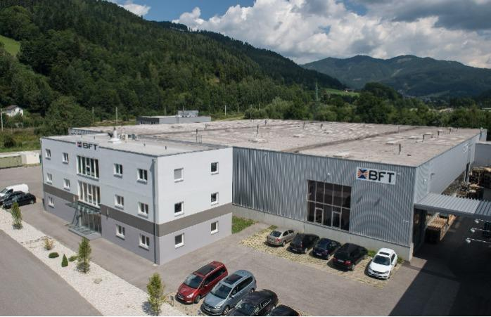 Produktionsstätte in Hönigsberg, Österreich