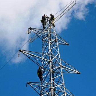 trabajos en altura: tirada de cables