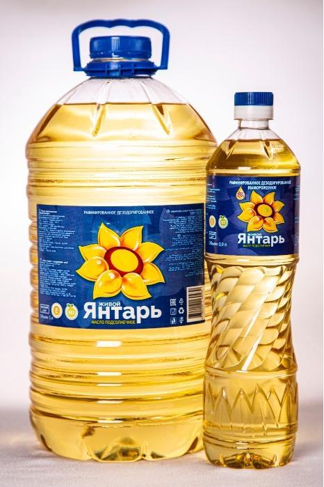 Refined deodorized frozen sunflower oil top grade  Zhivoi Yantar