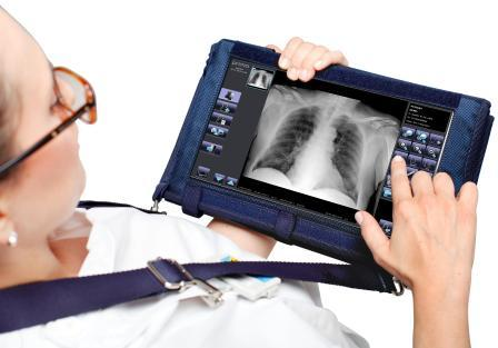 Upgrade any existing X-ray unit or radiography mobile with Primax Primo W. Portable touchscreen acquisition console and ultralight wireless flat panel with auto triggering function