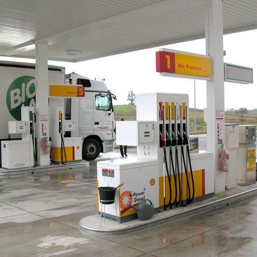 Öffentliche Tankstelle