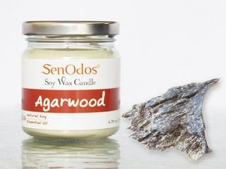 Agarwood - 100% Soy Candles & Essential Oils