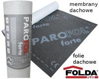 Very strong, three-layer membrane with a weight of 160 g/m2. Designed for discontinuous roofing, laid directly on the rafters or boarded the external roof covering.